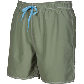 arena Fundamentals Solid Costume a pantaloncino Uomo, army-sea blue